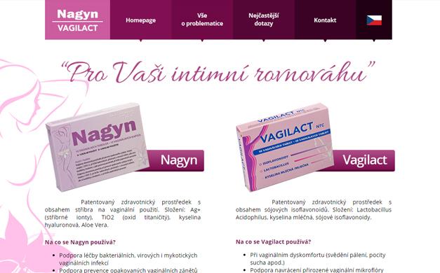 Responzivní web pro Nagyn