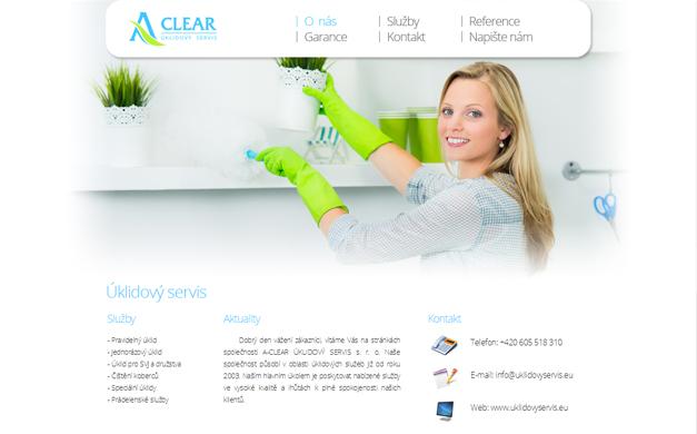 Úklidový servis A-clear