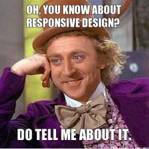 Responzivní design meme