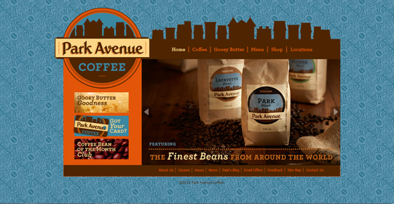 PARK AVENUE COFFEE