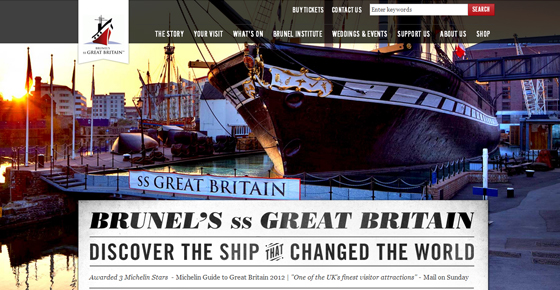 Brunel´s SS Great Britain