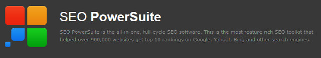 Nástroje SEO PowerSuite