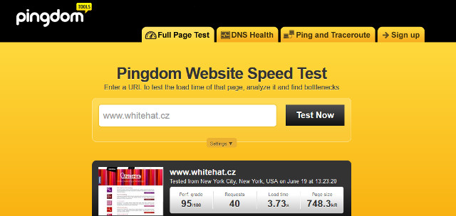 Pingdom Tools