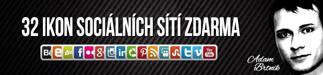 Ikony sociálních sítí zdarma