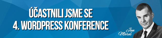 4. WordPress konference Praha
